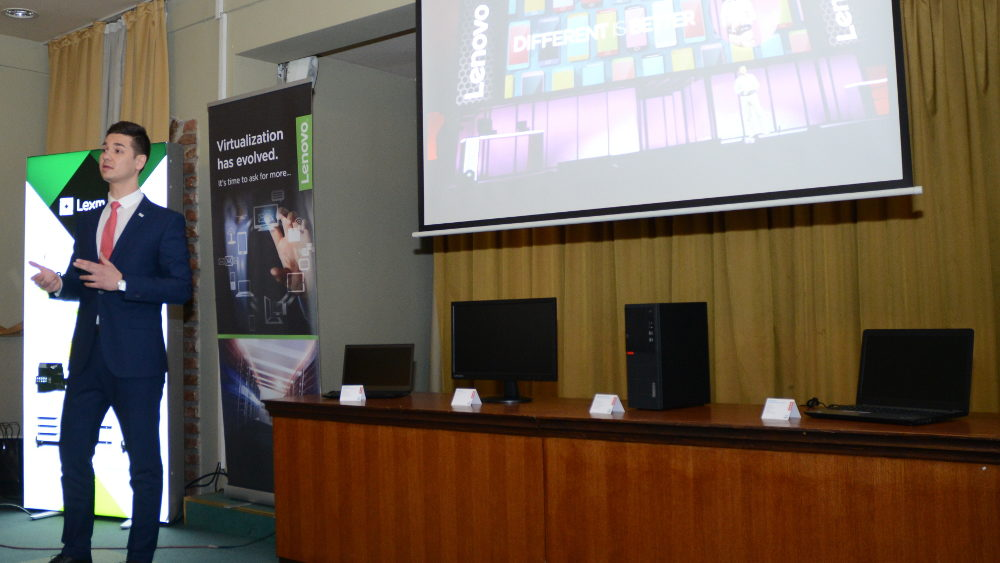 Lenovo Lexmark event