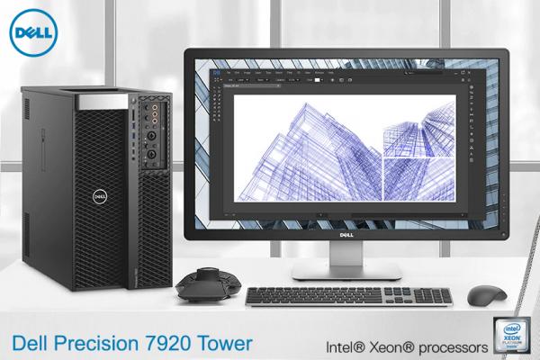 Dell Precision 7920 Tower – Максимум перформанси. Супериорна приспособливост.