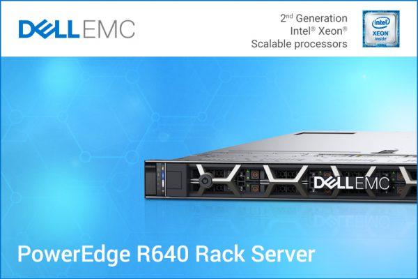 Не дозволувајте вашите тековни сервери да ве успорат. Зголемете ја продуктивноста и заштедете многу со Dell EMC PowerEdge R640!