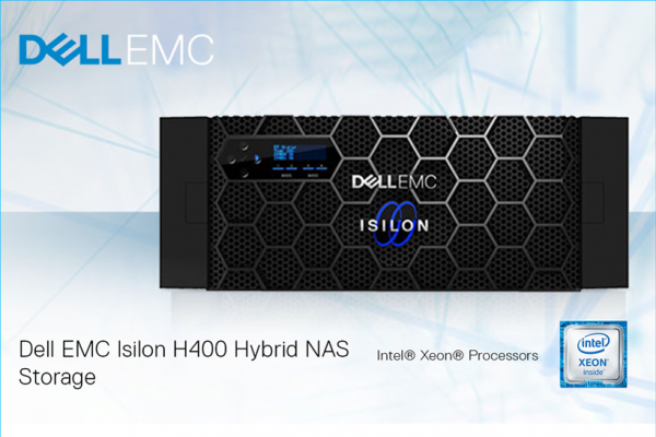Потребно ви е моќно, флексибилно и ефикасно решение за складирање на податоци? Dell EMC Isilon H400 обезбедува едноставност во управувањето, висока ефикасност и масивна скалабилност!